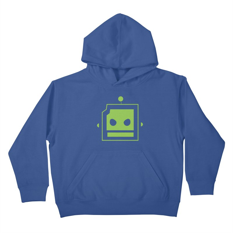 Team Robot  Kids Pullover Hoody by Monkeys Fighting Robots' Artist Shop