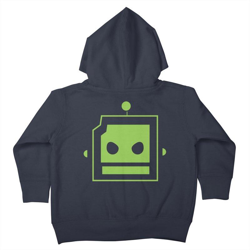 Team Robot  Kids Toddler Zip-Up Hoody by Monkeys Fighting Robots' Artist Shop