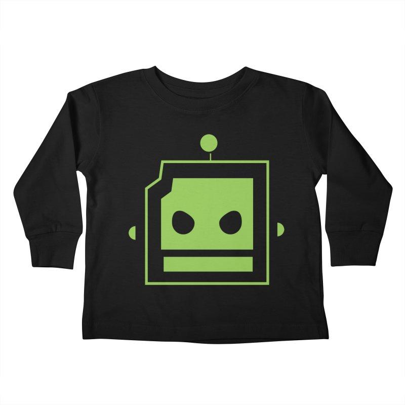 Team Robot  Kids Toddler Longsleeve T-Shirt by Monkeys Fighting Robots' Artist Shop