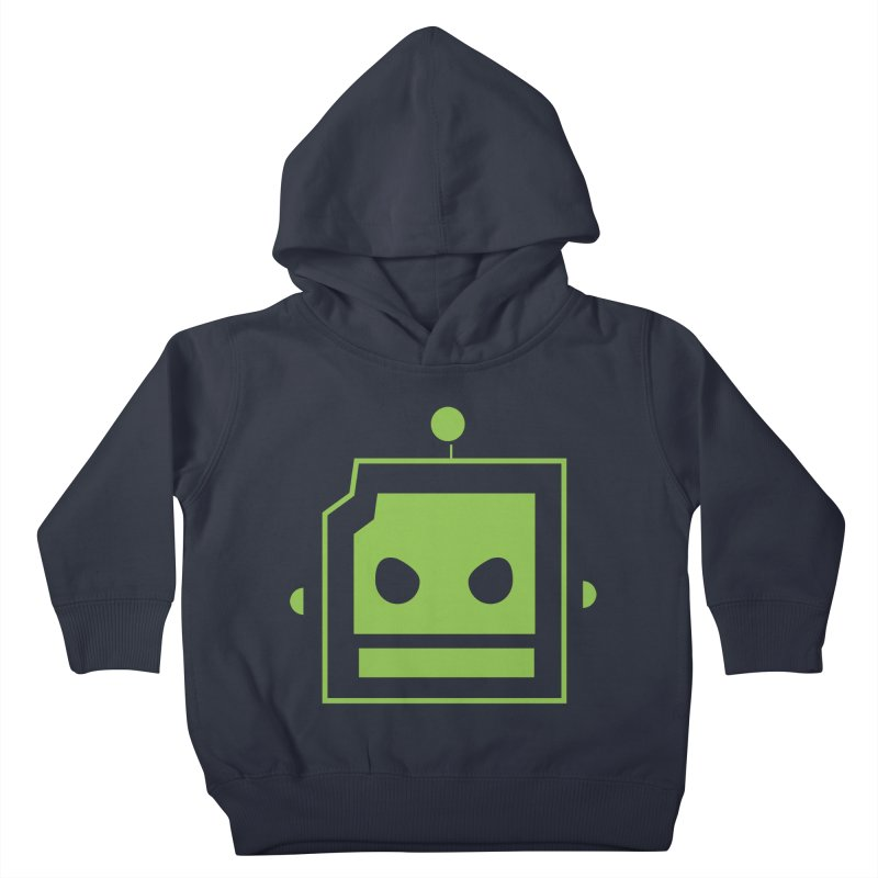 Team Robot  Kids Toddler Pullover Hoody by Monkeys Fighting Robots' Artist Shop