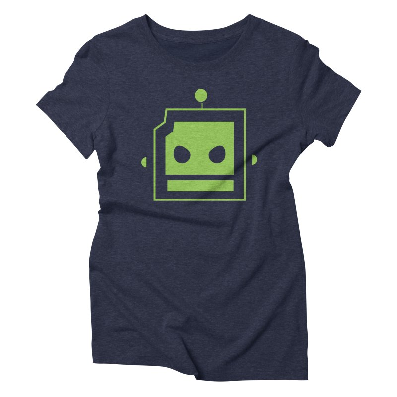 Team Robot  Women's Triblend T-shirt by Monkeys Fighting Robots' Artist Shop