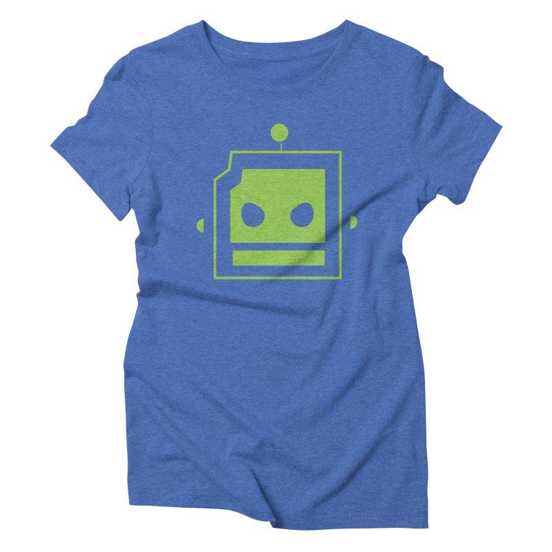 Team Robot  Women's Triblend T-shirt by Monkeys Fighting Robots' Artist Shop