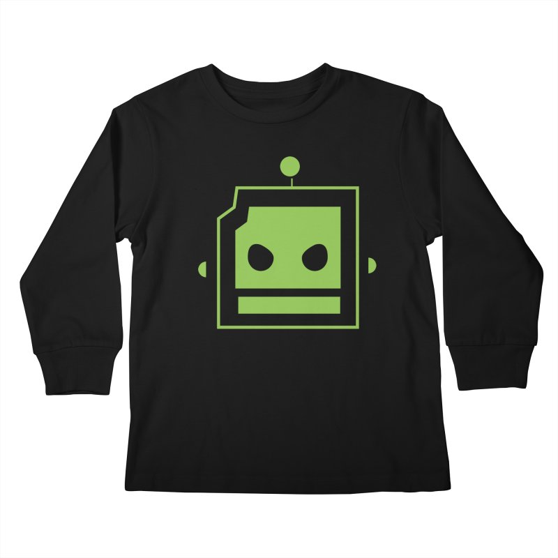 Team Robot  Kids Longsleeve T-Shirt by Monkeys Fighting Robots' Artist Shop