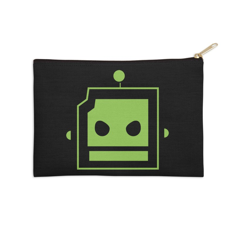 Team Robot  Accessories Zip Pouch by Monkeys Fighting Robots' Artist Shop