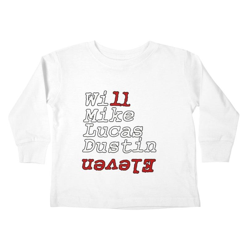 Strange Friends Kids Toddler Longsleeve T-Shirt by Monkeys Fighting Robots' Artist Shop