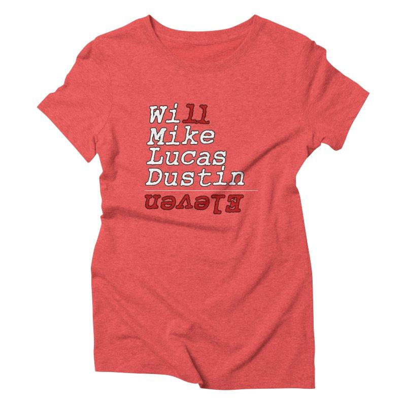 Strange Friends Women's Triblend T-Shirt by Monkeys Fighting Robots' Artist Shop