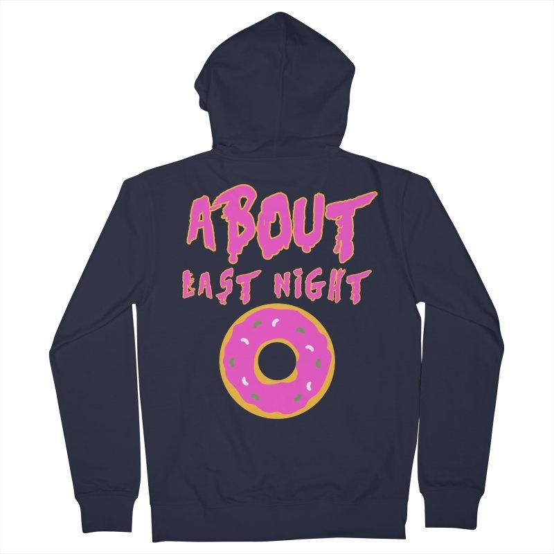 About Last Night's Donut  Women's Zip-Up Hoody by Monkeys Fighting Robots' Artist Shop