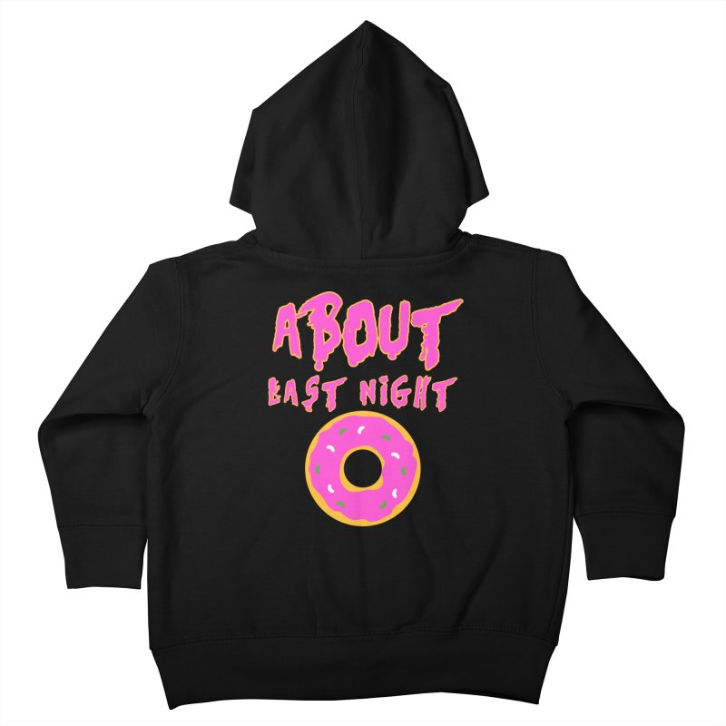 About Last Night's Donut  Kids Toddler Zip-Up Hoody by Monkeys Fighting Robots' Artist Shop