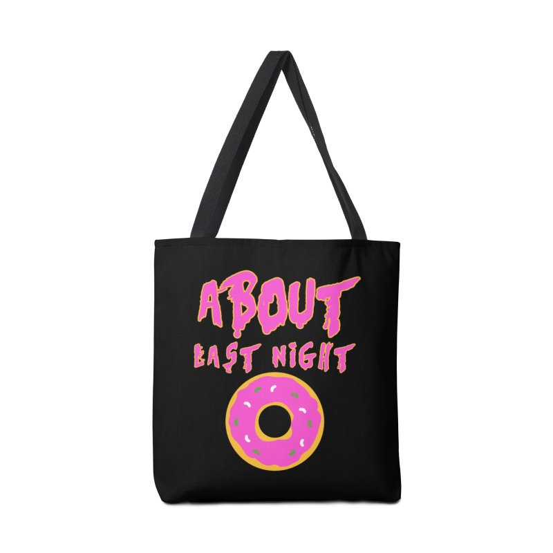 About Last Night's Donut  Accessories Bag by Monkeys Fighting Robots' Artist Shop