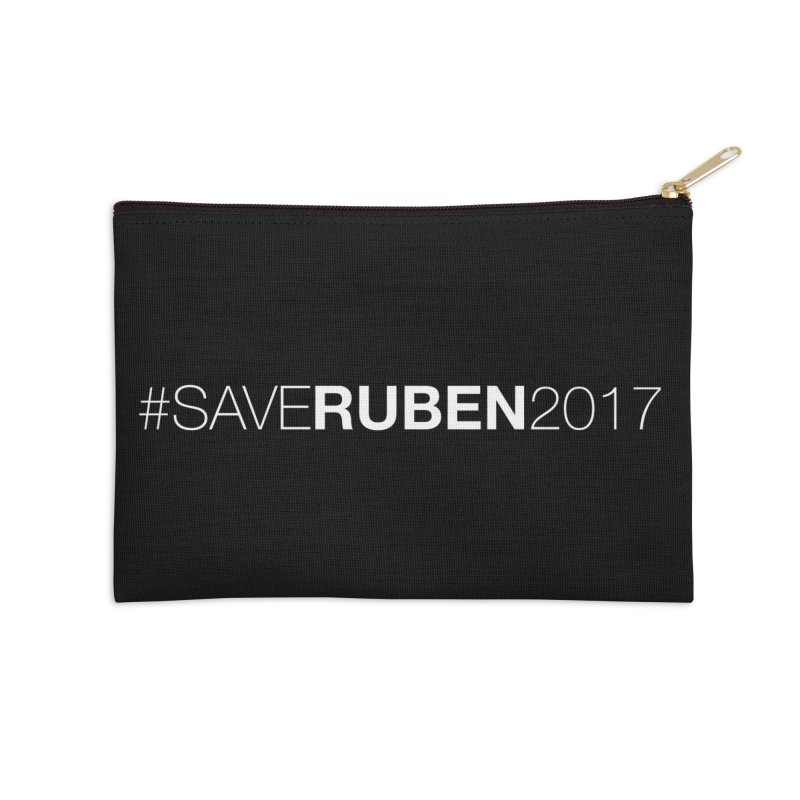 Save Ruben  Accessories Zip Pouch by Monkeys Fighting Robots' Artist Shop