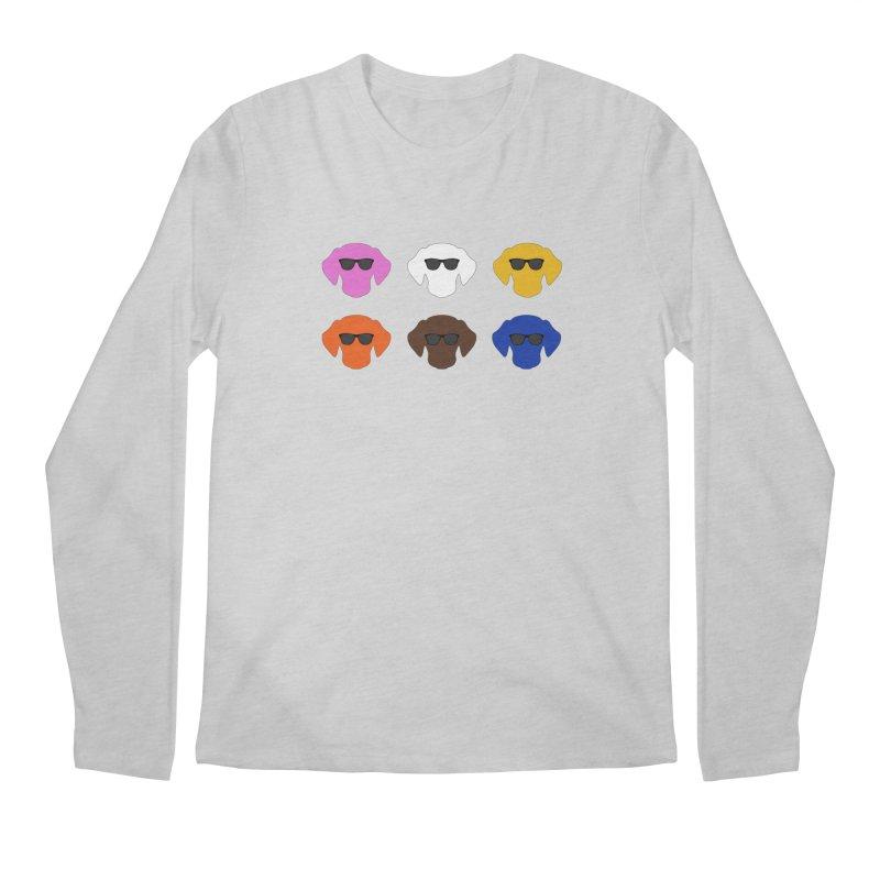 Reservoir Dogs Men's Longsleeve T-Shirt by Monkeys Fighting Robots' Artist Shop