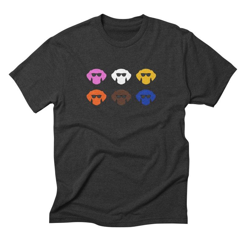 Reservoir Dogs Men's Triblend T-Shirt by Monkeys Fighting Robots' Artist Shop