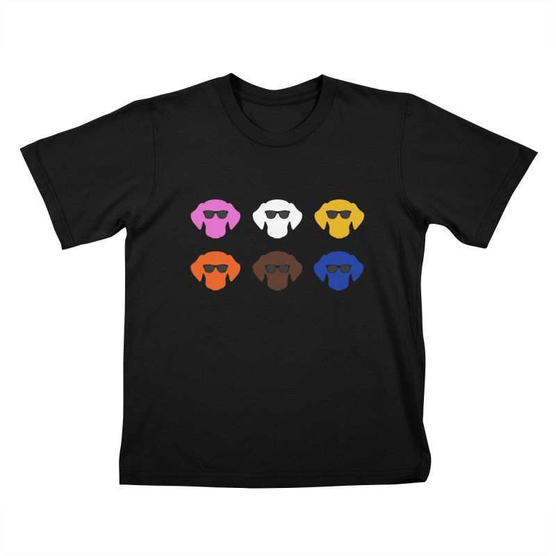Reservoir Dogs Kids T-Shirt by Monkeys Fighting Robots' Artist Shop