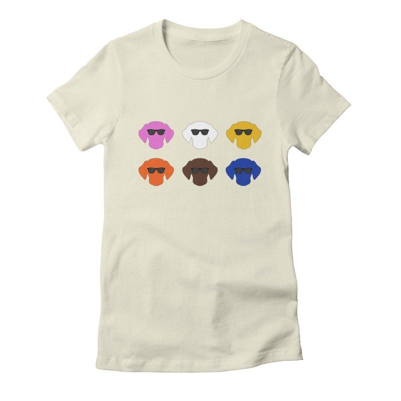 Reservoir Dogs Women's Fitted T-Shirt by Monkeys Fighting Robots' Artist Shop