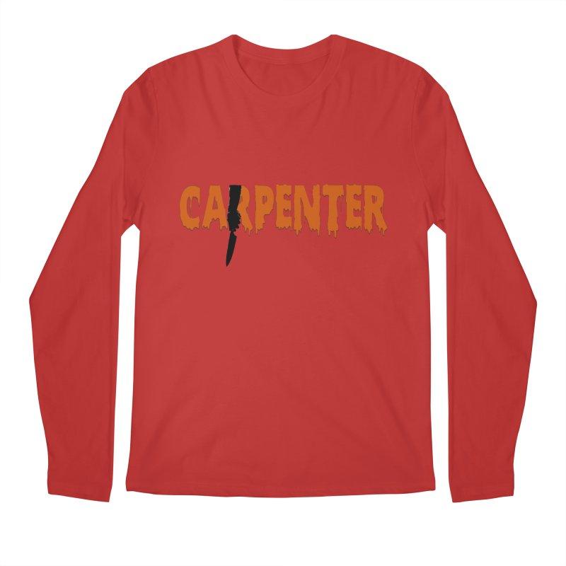 Carpenter Men's Longsleeve T-Shirt by Monkeys Fighting Robots' Artist Shop