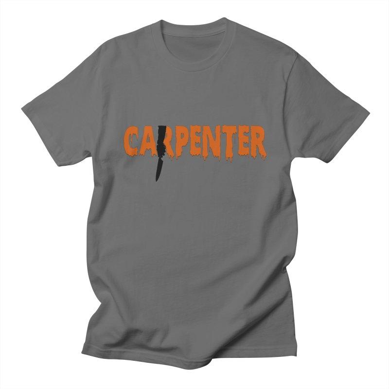 Carpenter Women's Unisex T-Shirt by Monkeys Fighting Robots' Artist Shop