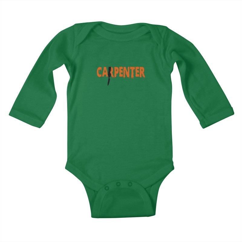 Carpenter Kids Baby Longsleeve Bodysuit by Monkeys Fighting Robots' Artist Shop
