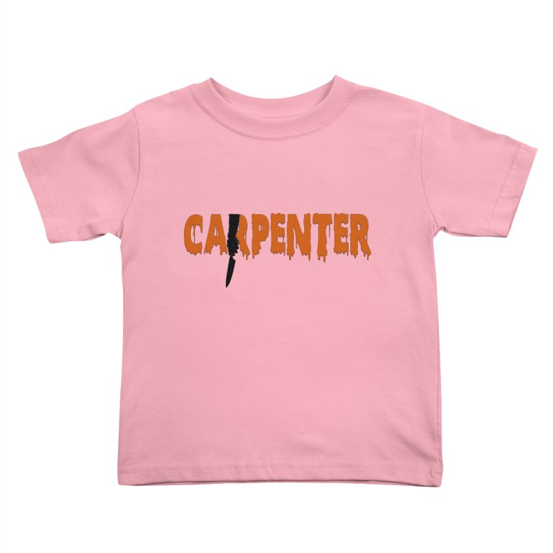 Carpenter Kids Toddler T-Shirt by Monkeys Fighting Robots' Artist Shop