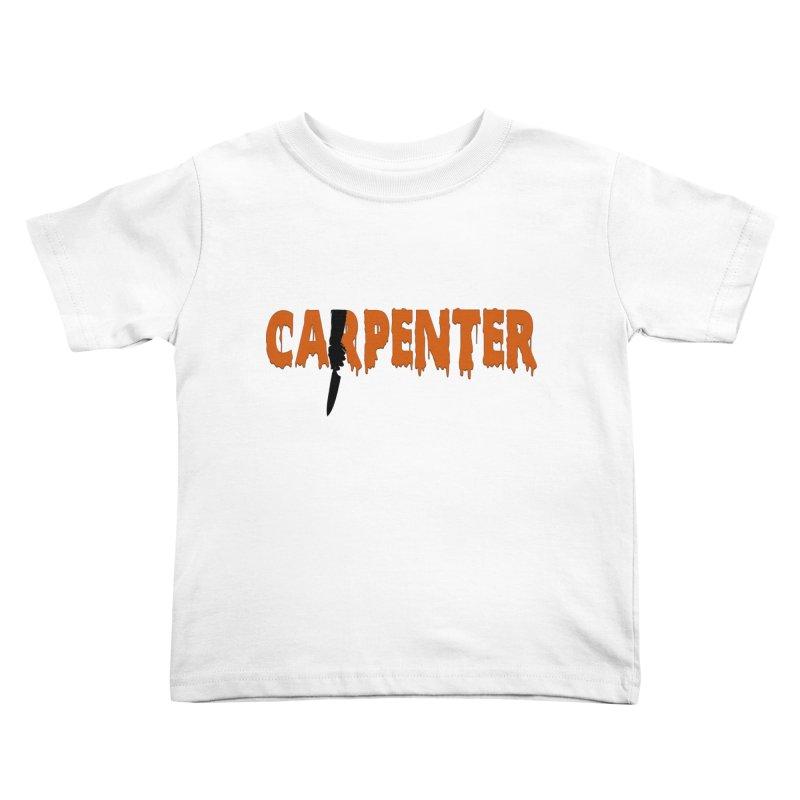 Carpenter Kids Toddler T-Shirt by Monkeys Fighting Robots' Artist Shop