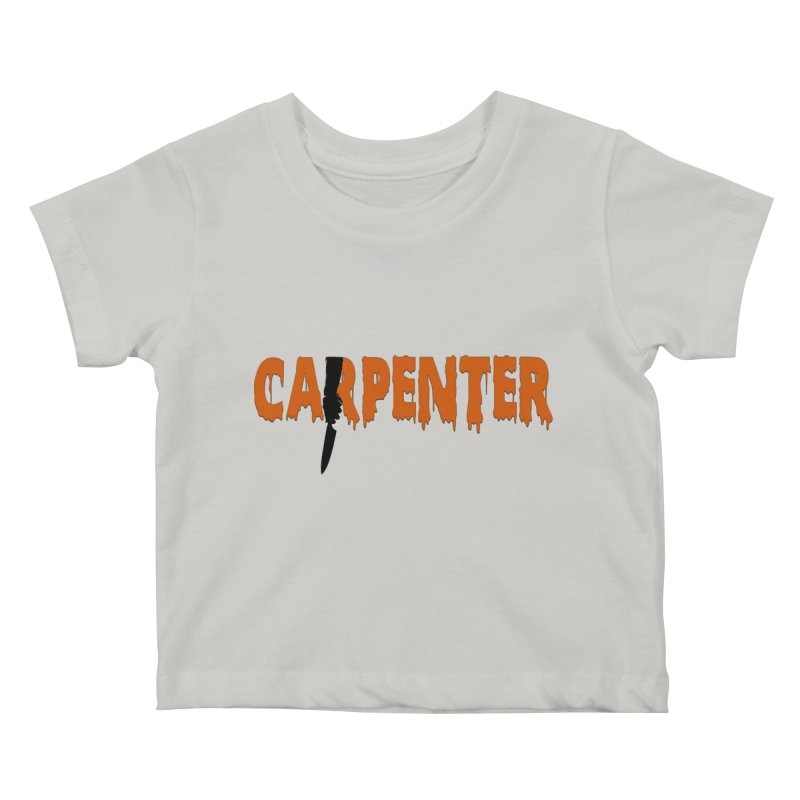 Carpenter Kids Baby T-Shirt by Monkeys Fighting Robots' Artist Shop