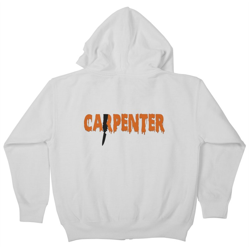 Carpenter Kids Zip-Up Hoody by Monkeys Fighting Robots' Artist Shop