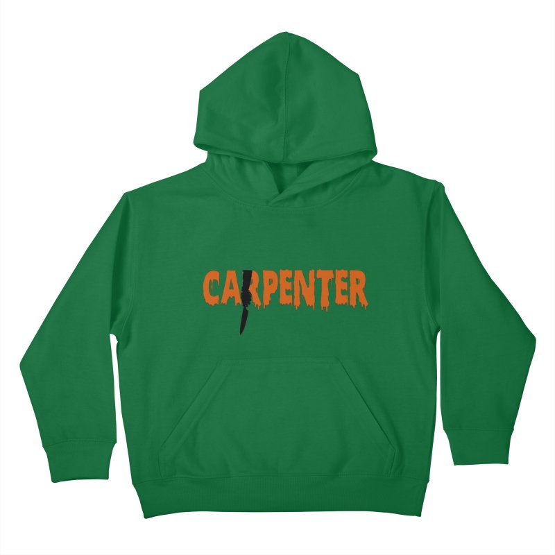 Carpenter Kids Pullover Hoody by Monkeys Fighting Robots' Artist Shop