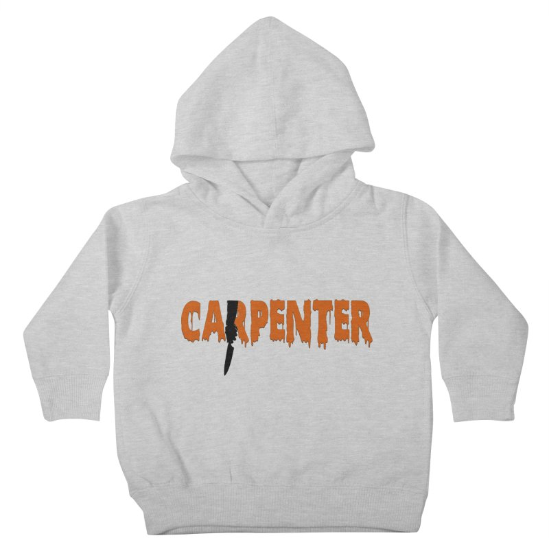 Carpenter Kids Toddler Pullover Hoody by Monkeys Fighting Robots' Artist Shop