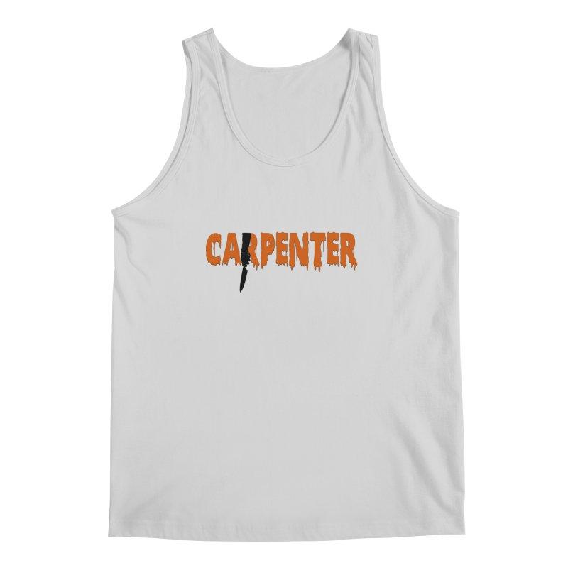 Carpenter Men's Tank by Monkeys Fighting Robots' Artist Shop