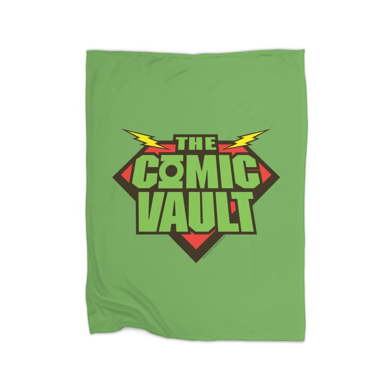 Chicago Comic Vault Old School Logo  Home Blanket by Monkeys Fighting Robots' Artist Shop