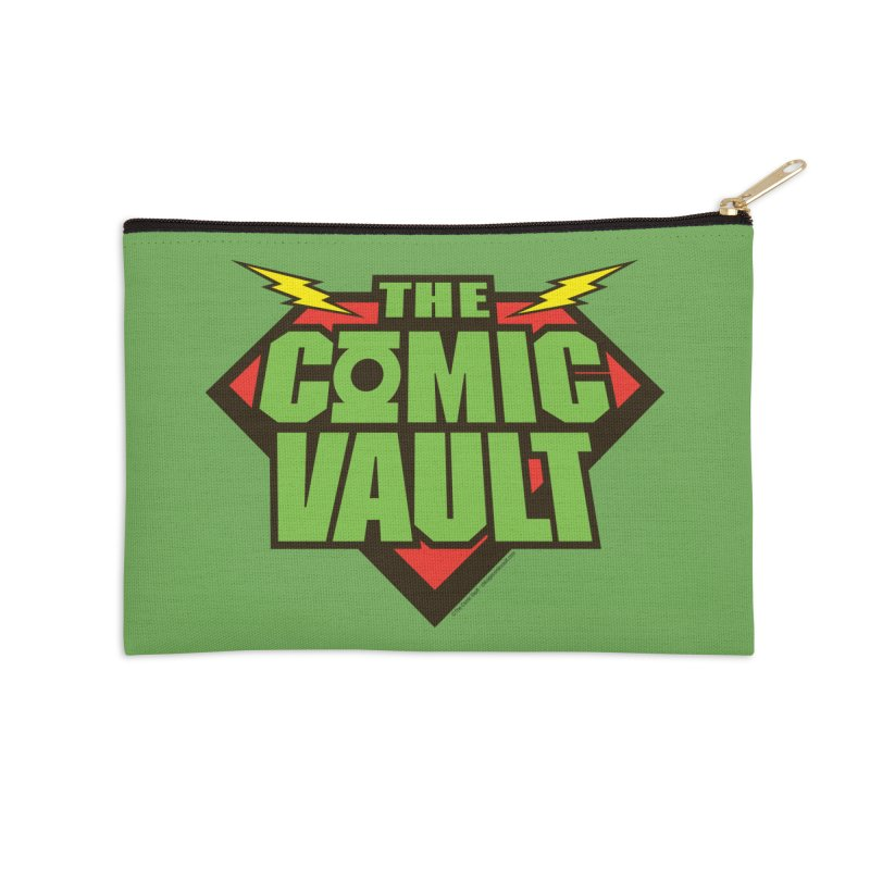 Chicago Comic Vault Old School Logo  Accessories Zip Pouch by Monkeys Fighting Robots' Artist Shop