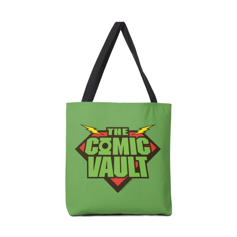 Chicago Comic Vault Old School Logo  Accessories Bag by Monkeys Fighting Robots' Artist Shop