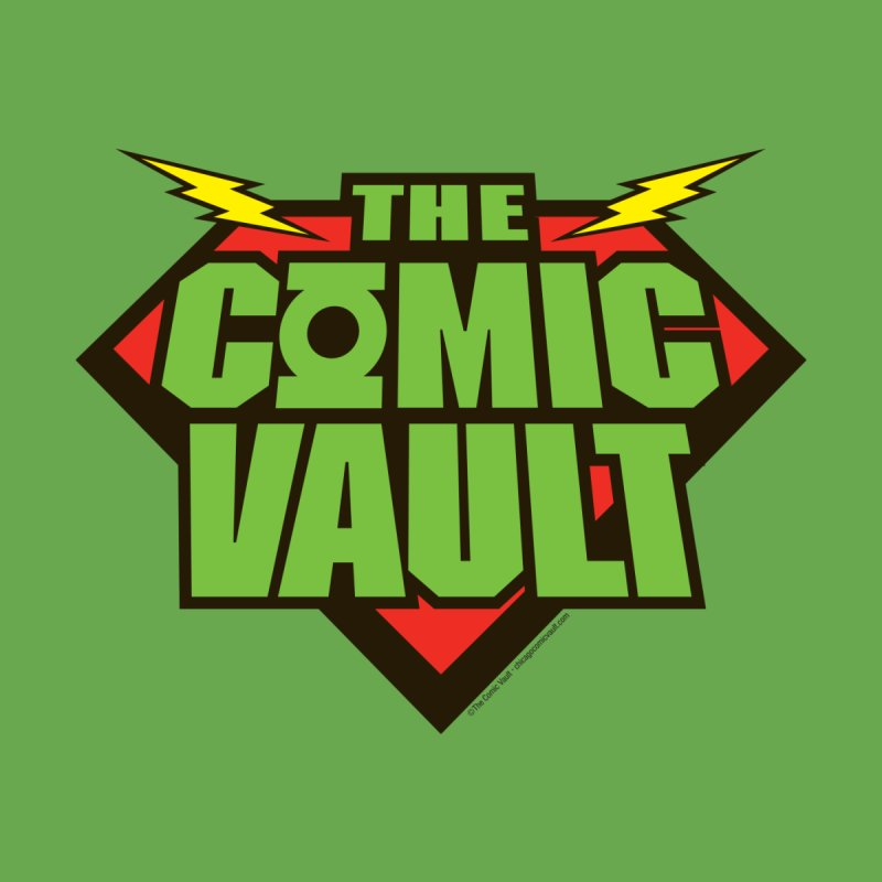 Chicago Comic Vault Old School Logo    by Monkeys Fighting Robots' Artist Shop