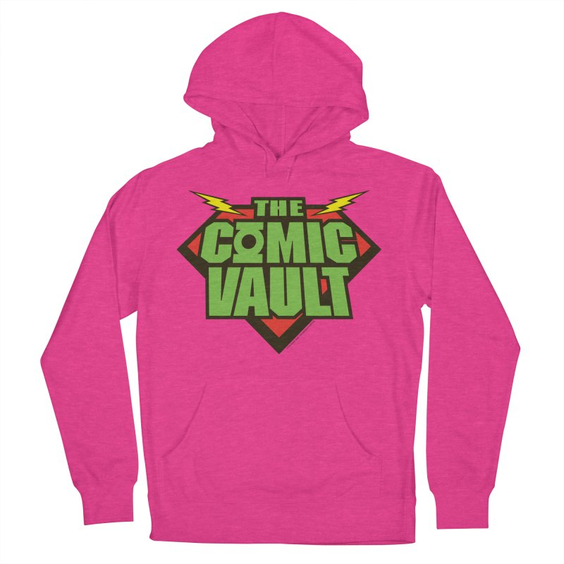 Chicago Comic Vault Old School Logo  Women's Pullover Hoody by Monkeys Fighting Robots' Artist Shop