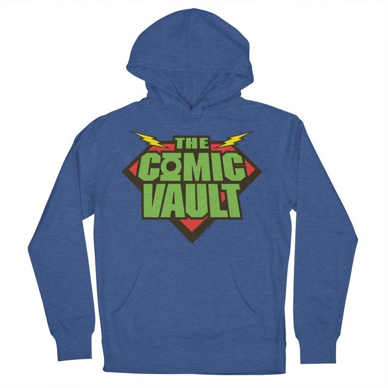 Chicago Comic Vault Old School Logo  Men's Pullover Hoody by Monkeys Fighting Robots' Artist Shop