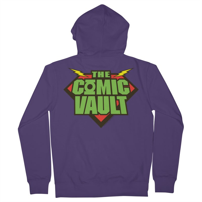 Chicago Comic Vault Old School Logo  Women's Zip-Up Hoody by Monkeys Fighting Robots' Artist Shop