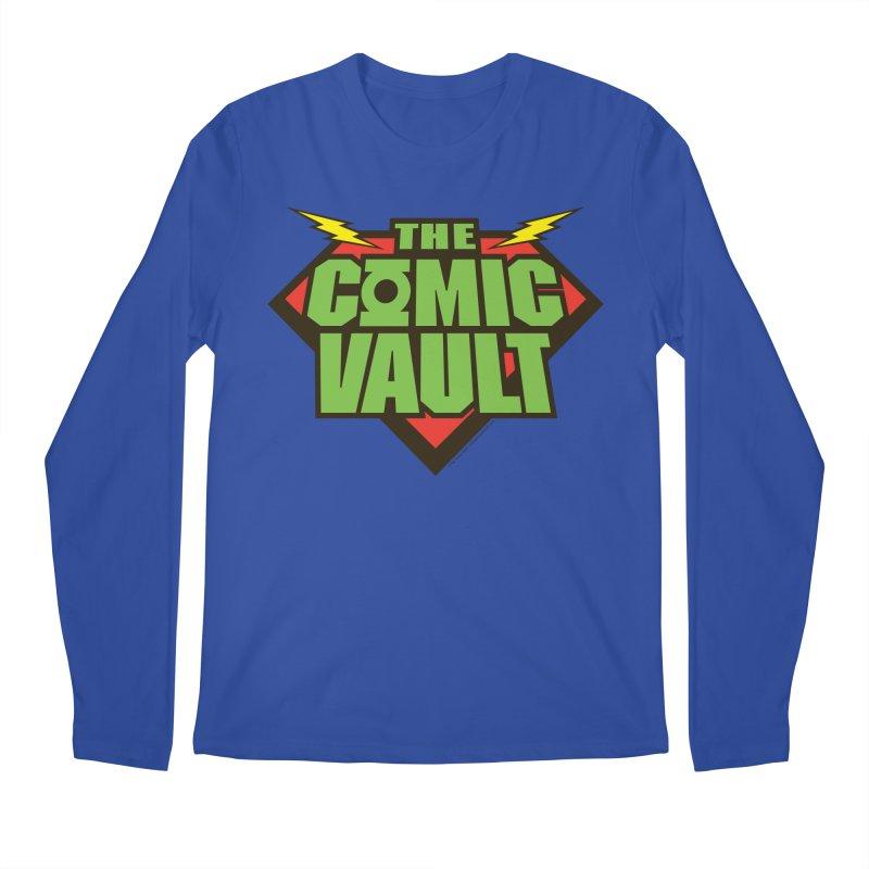 Chicago Comic Vault Old School Logo  Men's Longsleeve T-Shirt by Monkeys Fighting Robots' Artist Shop