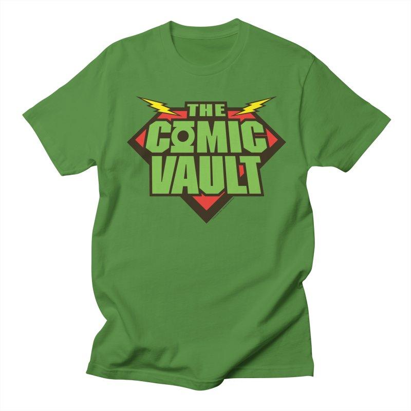 Chicago Comic Vault Old School Logo  Women's Unisex T-Shirt by Monkeys Fighting Robots' Artist Shop