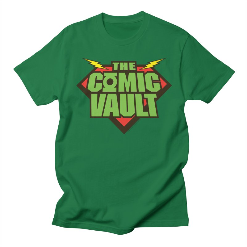 Chicago Comic Vault Old School Logo  Women's Unisex T-Shirt by Monkeys Fighting Robots' Artist Shop