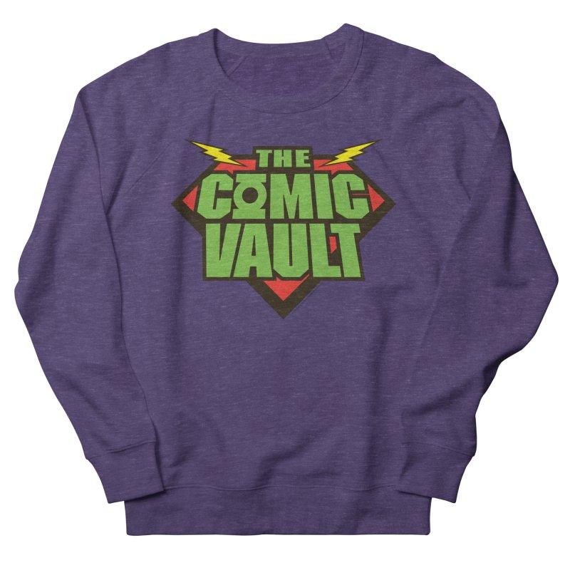 Chicago Comic Vault Old School Logo  Women's Sweatshirt by Monkeys Fighting Robots' Artist Shop