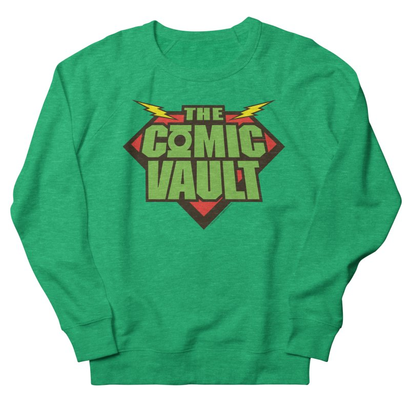 Chicago Comic Vault Old School Logo  Men's Sweatshirt by Monkeys Fighting Robots' Artist Shop