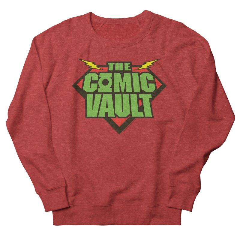 Chicago Comic Vault Old School Logo  Men's Sweatshirt by Monkeys Fighting Robots' Artist Shop