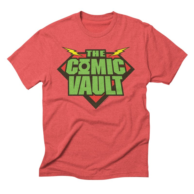 Chicago Comic Vault Old School Logo  Men's Triblend T-Shirt by Monkeys Fighting Robots' Artist Shop