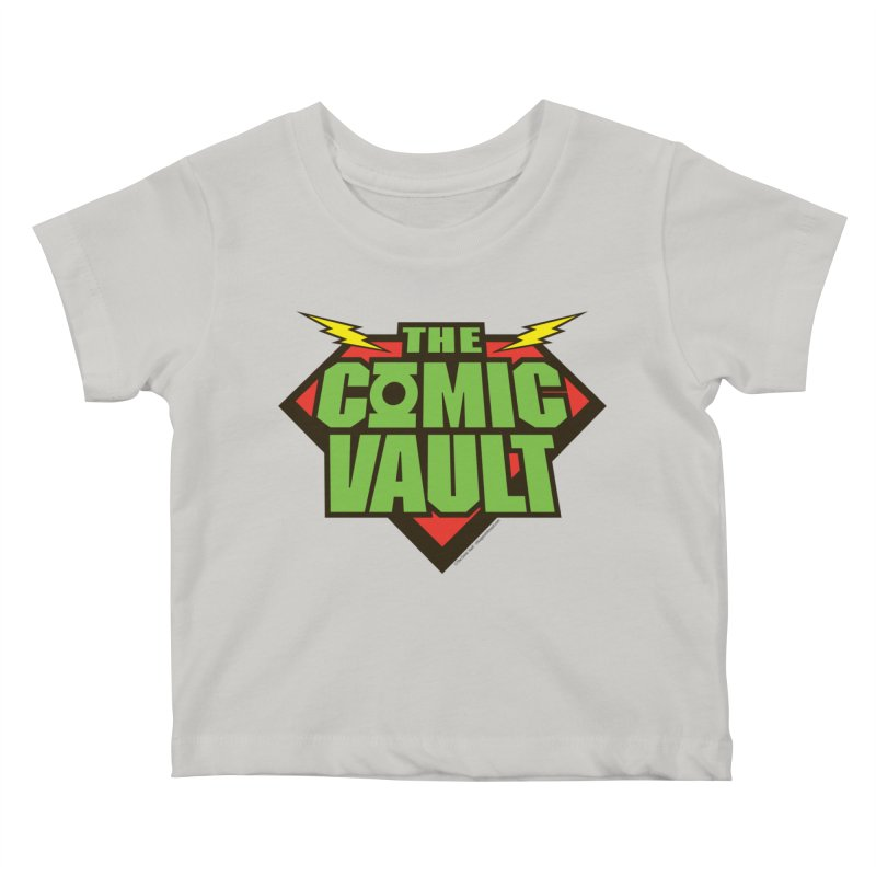 Chicago Comic Vault Old School Logo  Kids Baby T-Shirt by Monkeys Fighting Robots' Artist Shop