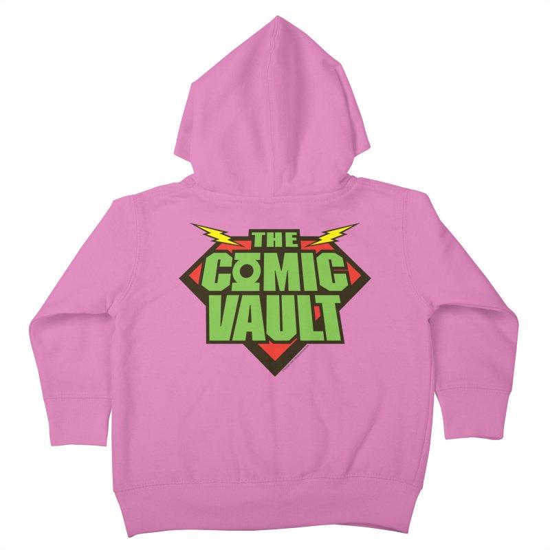 Chicago Comic Vault Old School Logo  Kids Toddler Zip-Up Hoody by Monkeys Fighting Robots' Artist Shop
