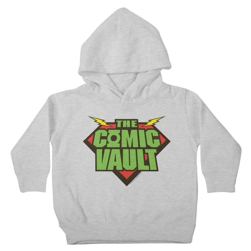 Chicago Comic Vault Old School Logo  Kids Toddler Pullover Hoody by Monkeys Fighting Robots' Artist Shop