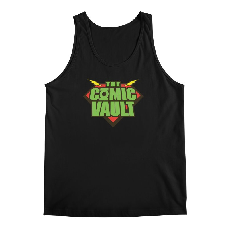 Chicago Comic Vault Old School Logo  Men's Tank by Monkeys Fighting Robots' Artist Shop