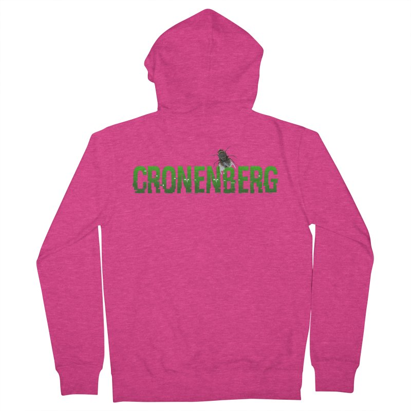 Cronenberg Women's Zip-Up Hoody by Monkeys Fighting Robots' Artist Shop