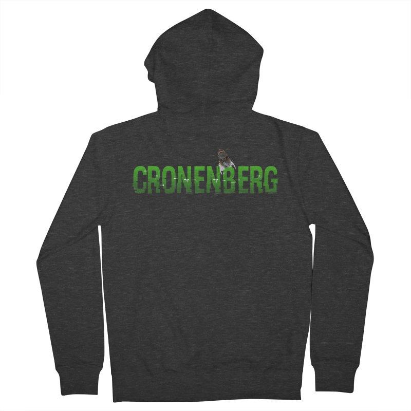 Cronenberg Men's Zip-Up Hoody by Monkeys Fighting Robots' Artist Shop