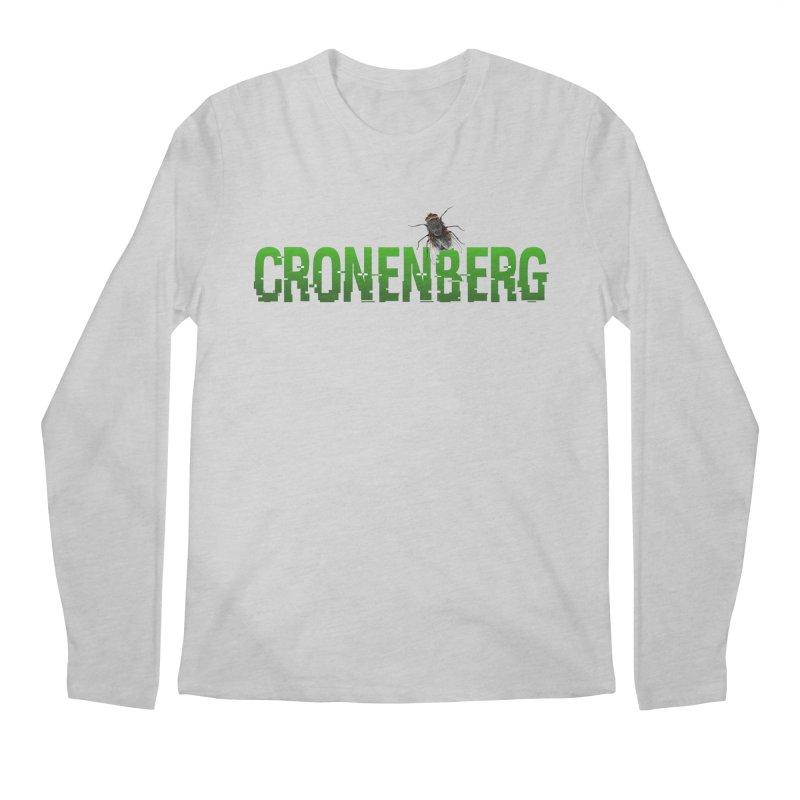 Cronenberg Men's Longsleeve T-Shirt by Monkeys Fighting Robots' Artist Shop