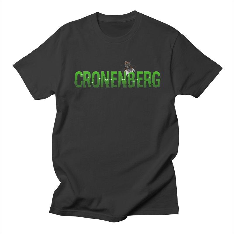 Cronenberg Men's T-shirt by Monkeys Fighting Robots' Artist Shop